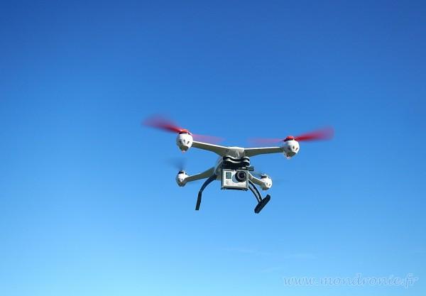 matériel pour faire un dronie